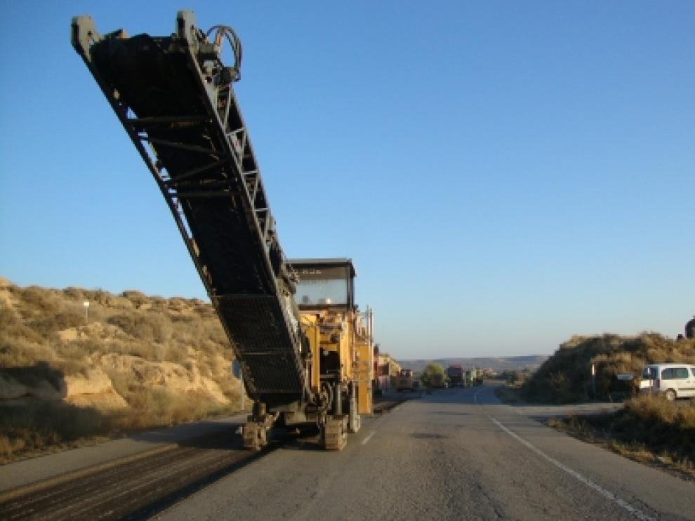 Varias carreteras están siendo reformadas