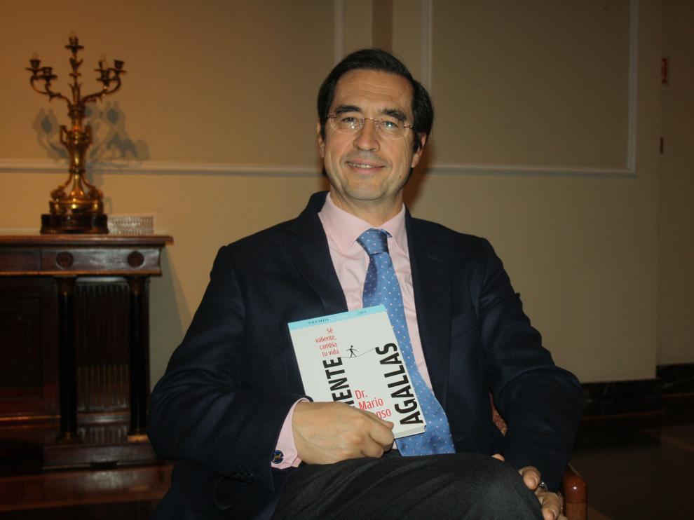 El doctor Mario Alonso Puig en Zaragoza
