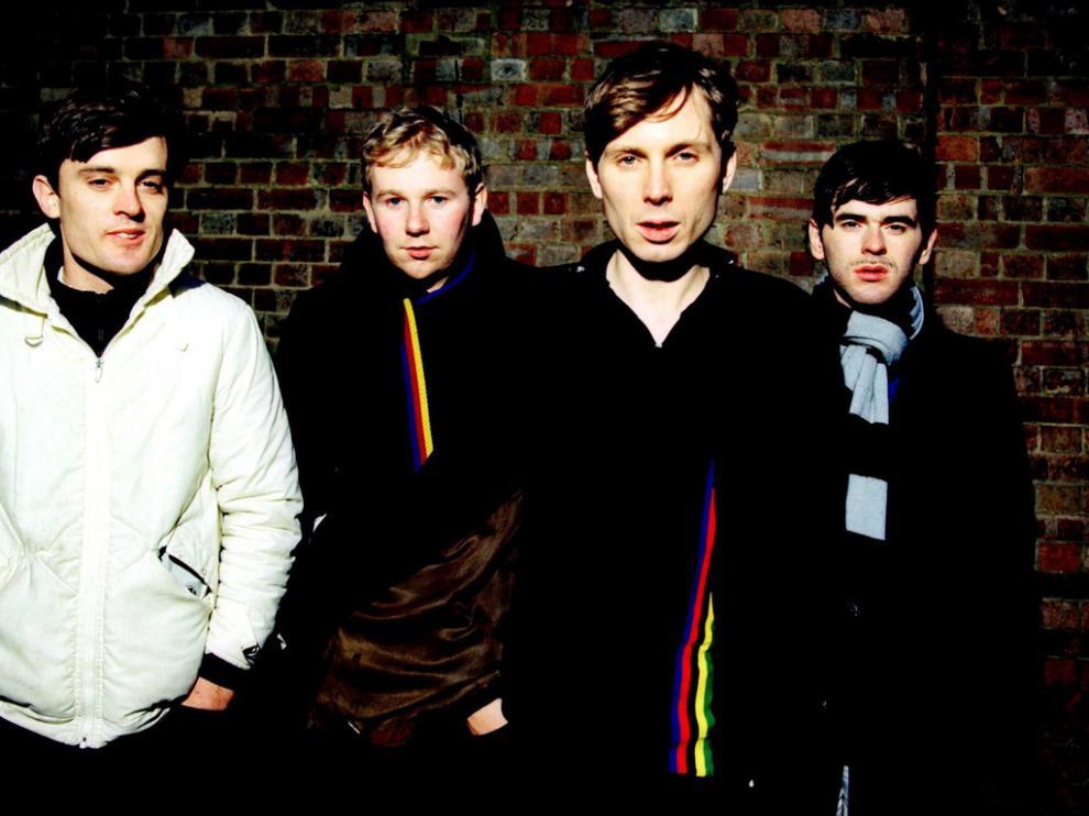 Los miembros de la banda escocesa Franz Ferdinand.
