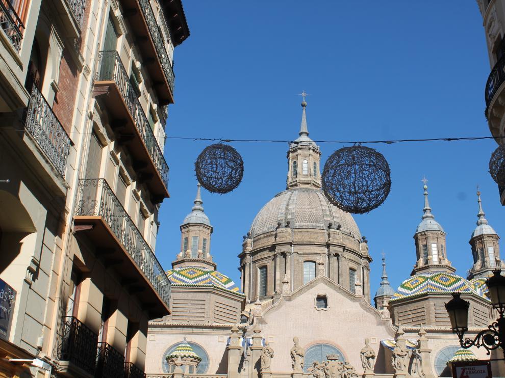 Navidad en la plaza del Pilar
