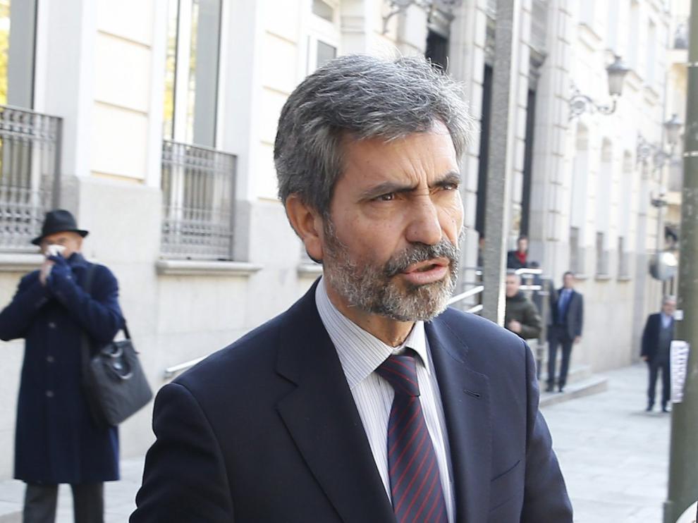 Carlos Lesmes, presidente del CGPJ y del Supremo