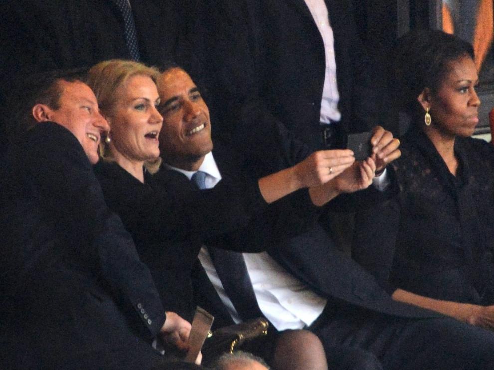 El enfado de Michelle Obama
