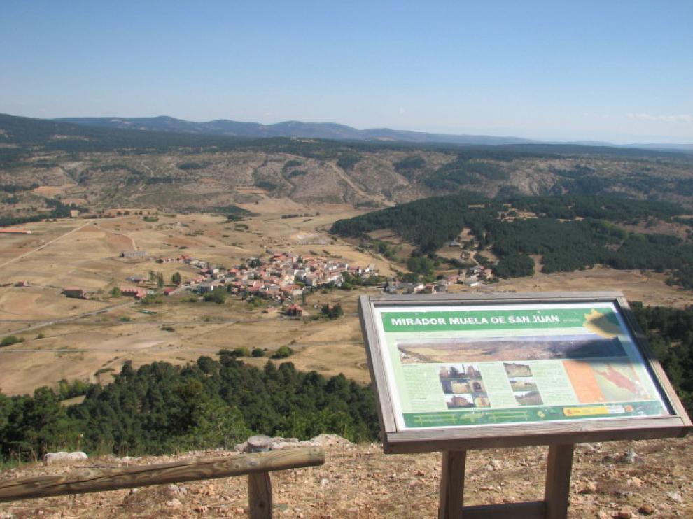 Vista del pueblo de Griegos