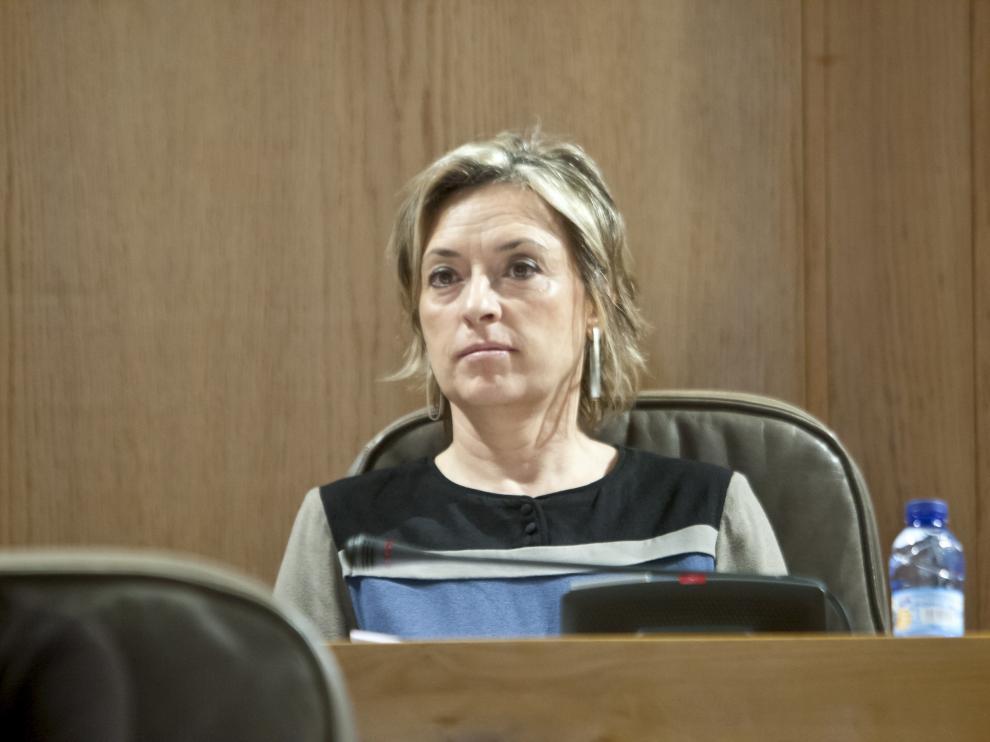 La diputada de CHA, Nieves Ibeas