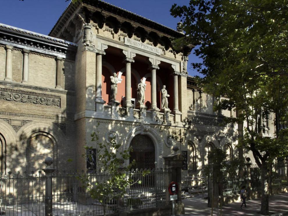 Fachada principal del museo provincial