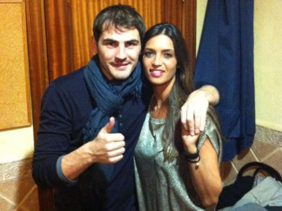 Iker Casillas y Sara Carbonero en una imagen de archivo