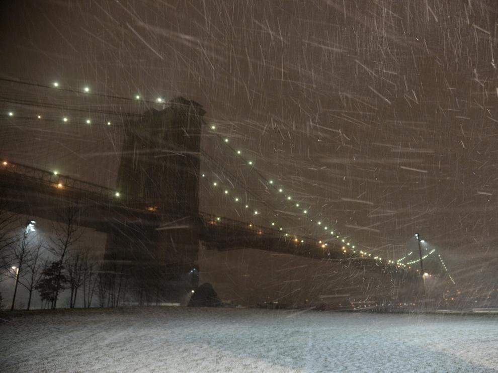 Imagen invernal de Nueva York