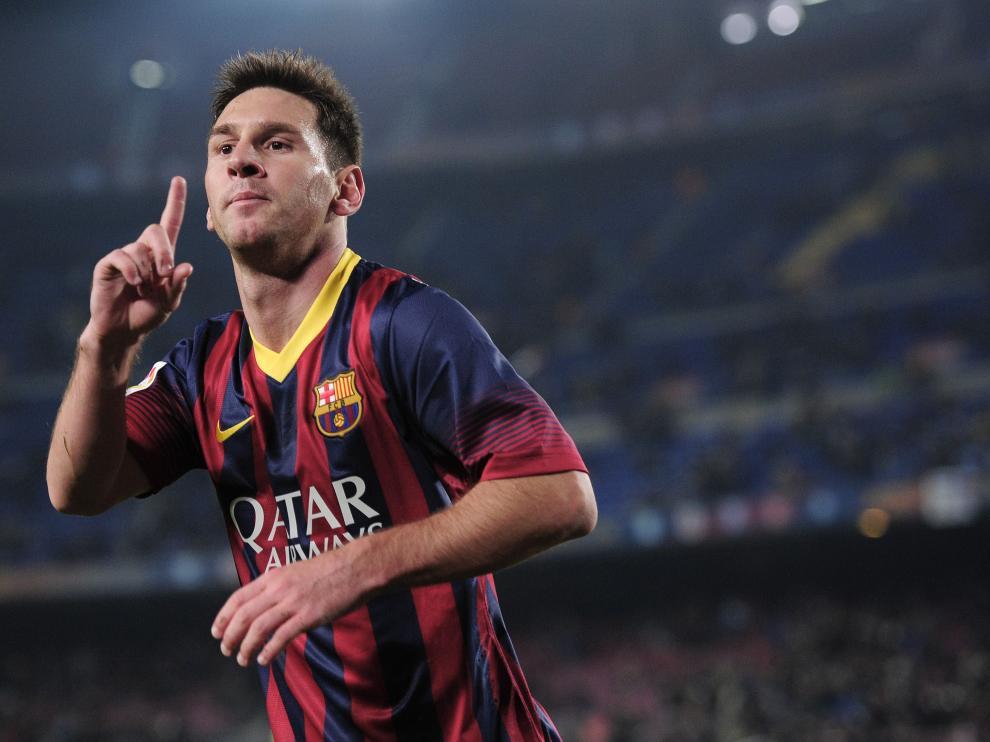Messi volvió marcando