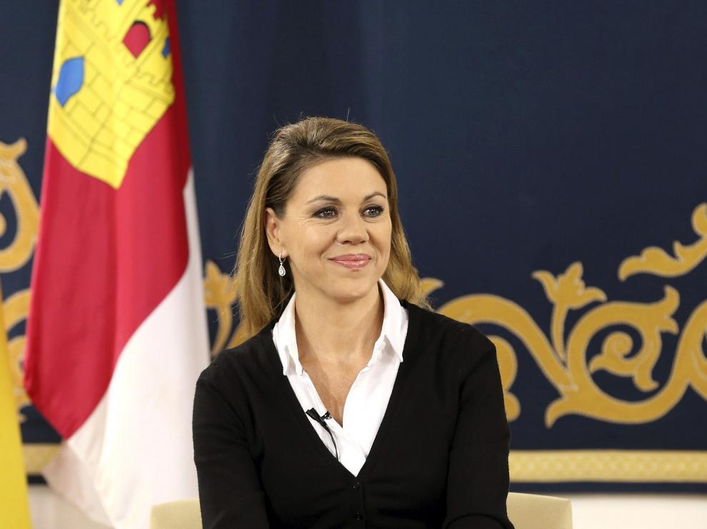 La presidenta de Castilla La Mancha, María Dolores de Cospedal.