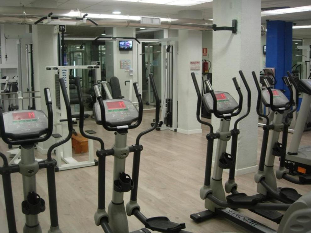 Vista del gimnasio Works Gym