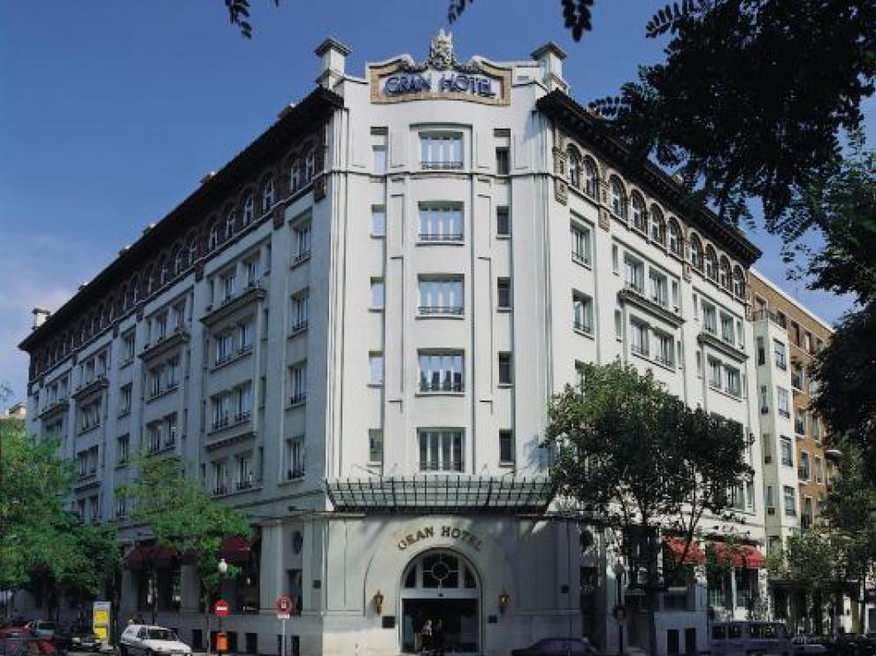 Fachada del Gran Hotel de Zaragoza
