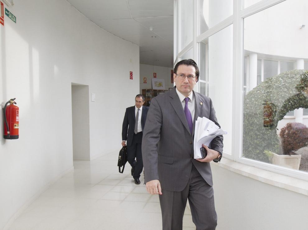El presidente de la D.O. Jamón de Teruel