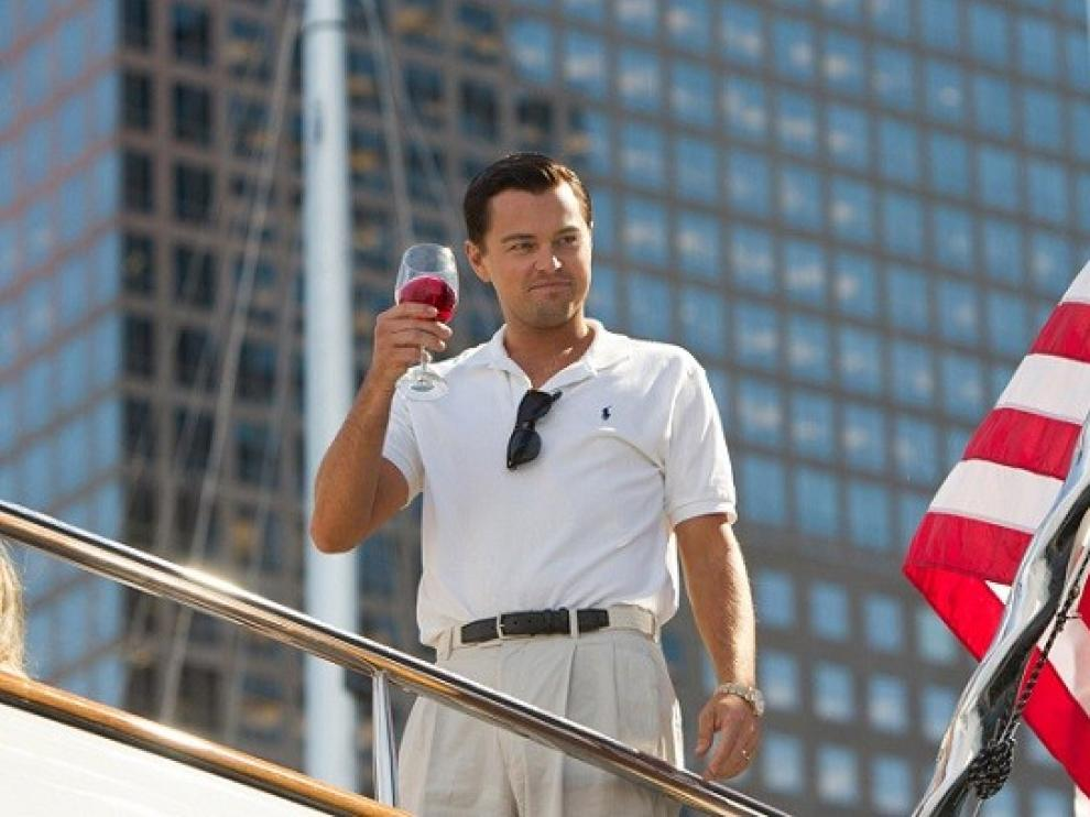 Di Caprio es 'El lobo de Wall Street'