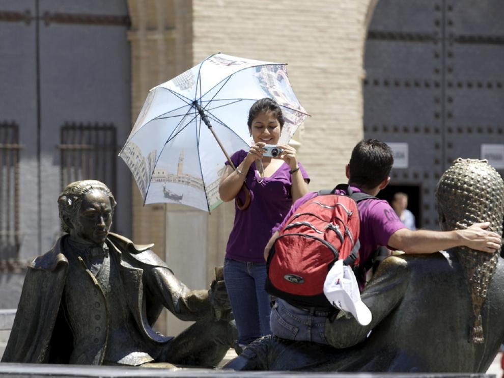 Zaragoza durante el verano