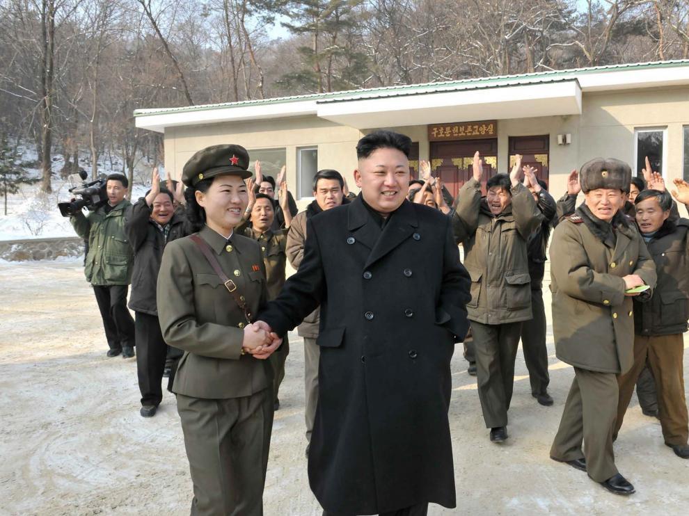 Kim Jong-un en una imagen de archivo