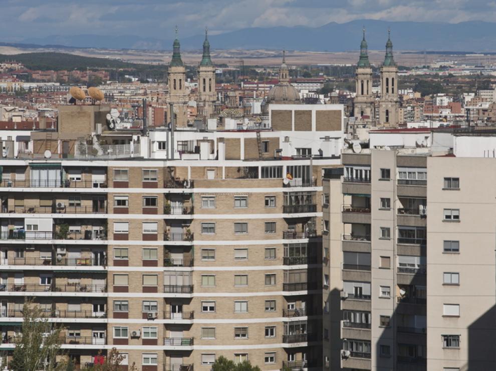 Conjunto de viviendas en Zaragoza