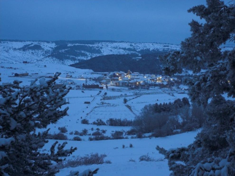 Una vista del municipio de Griegos