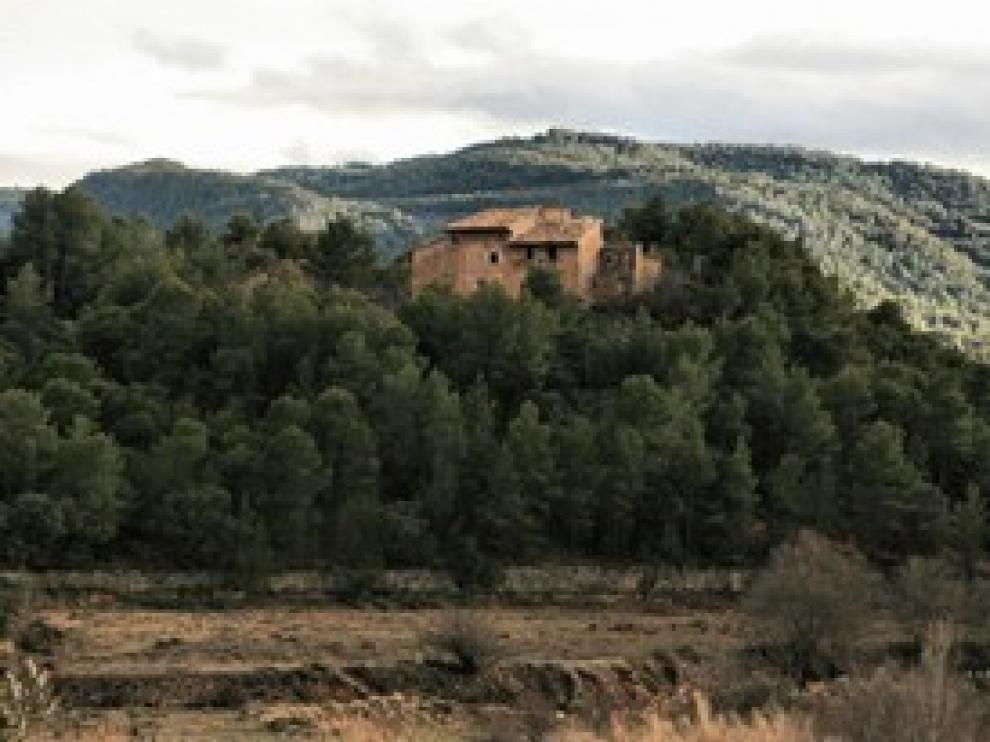 Aldea abandonada en Teruel