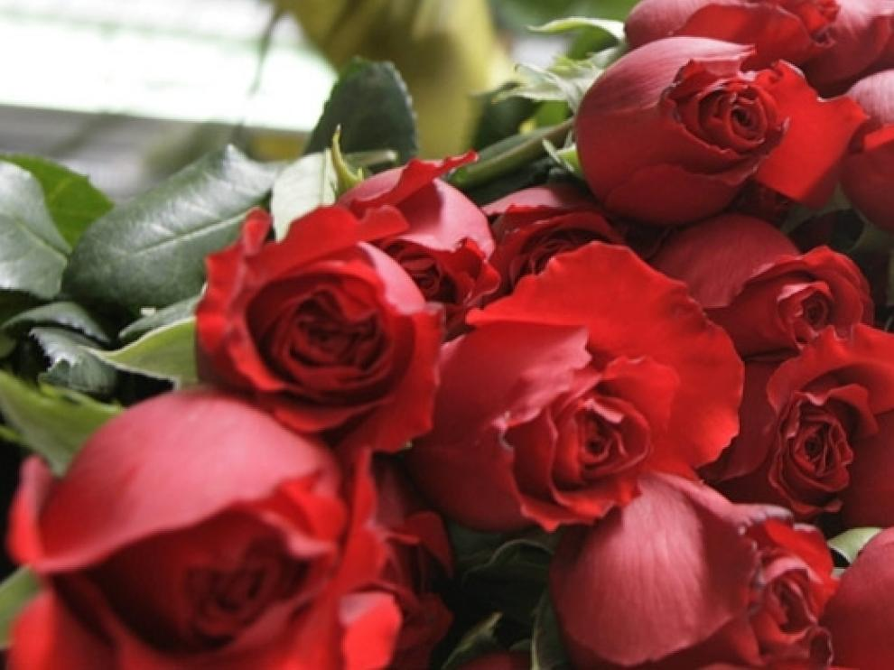 Regala un ramo de rosas rojas naturales para San Valentín