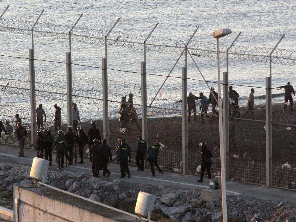 Frontera de Ceuta