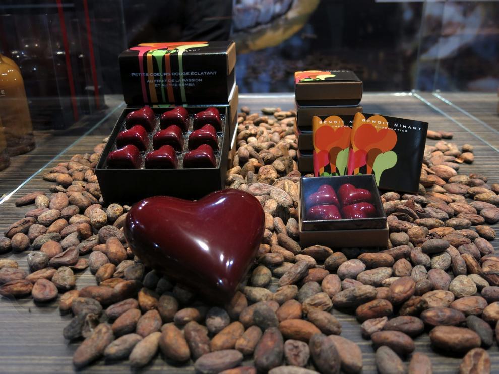 Originales creaciones en el Salón del Chocolate de Bruselas
