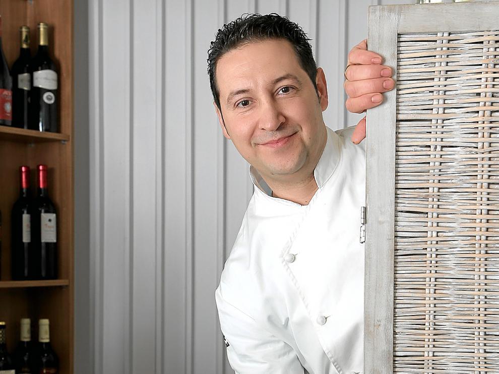 El chef aragonés Sergio Andrés, propietario del restaurante Antonio de Zaragoza