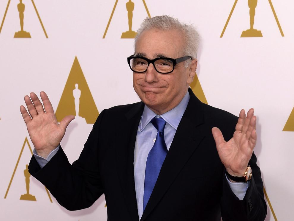 Martin Scorsese, director de la película 'Infiltrados' (2006)