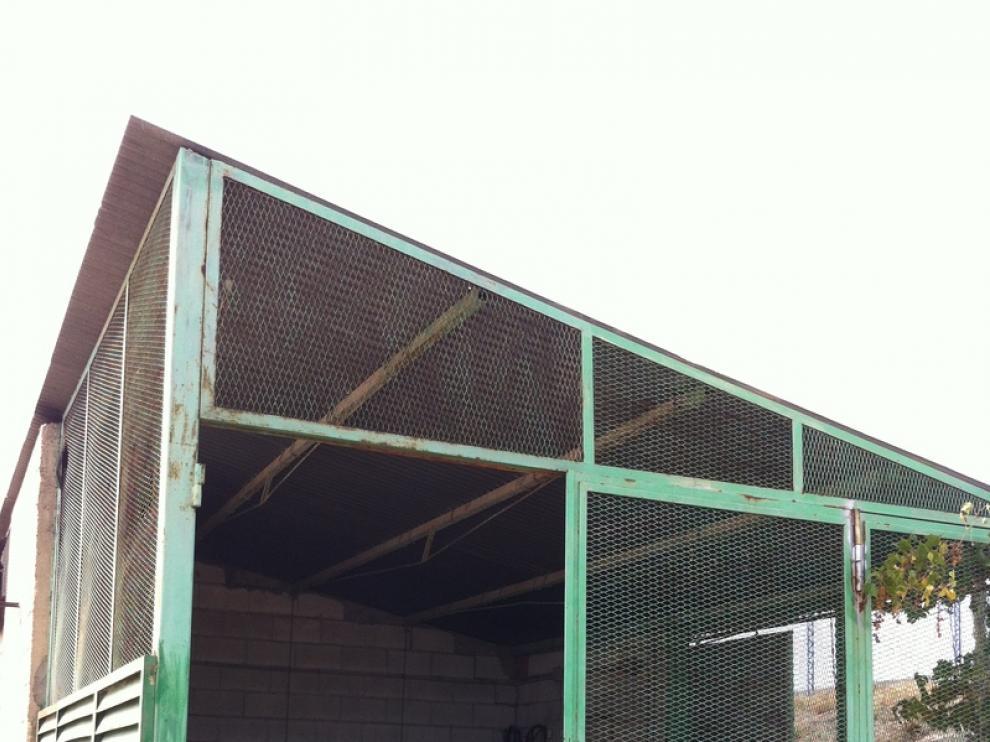Imagen de archivo de un almacén asaltado en Lumpiaque