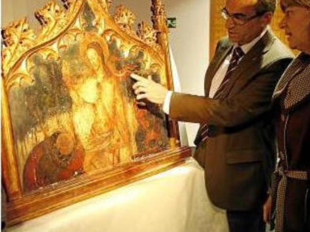 El Supremo confirma que la tabla de Benabarre es patrimonio de Aragón