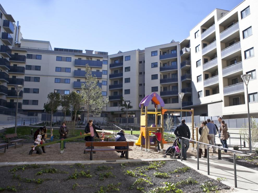 Una comunidad de vecinos en Zaragoza