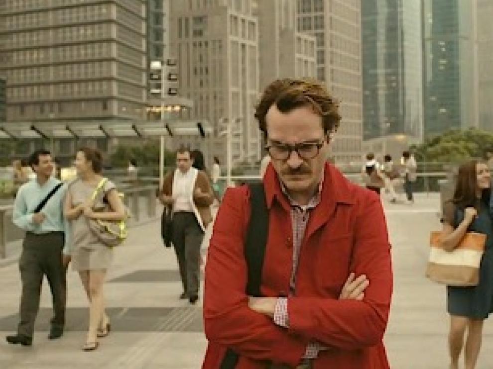 Joaquin Phoenix en su papel en 'Her'