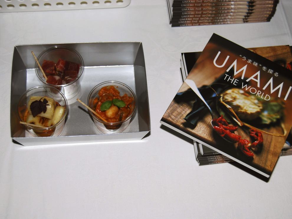 Tapas del chef japonés Yamada Chikara