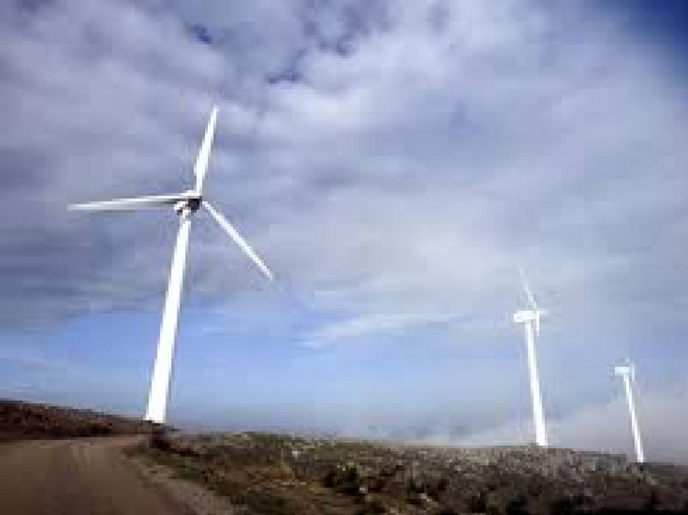 Parque eólico en El Burgo