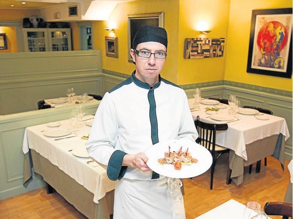 Ariel Martín Kerbel, del restaurante turolense La Menta.