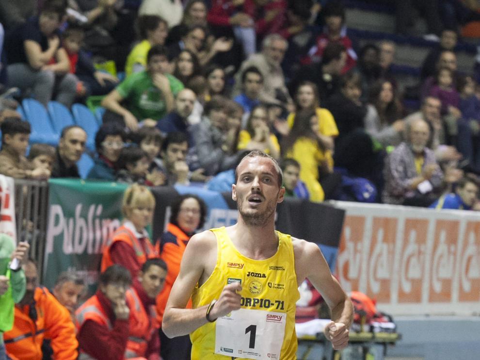 El aragonés en los mundiales de atletismo.