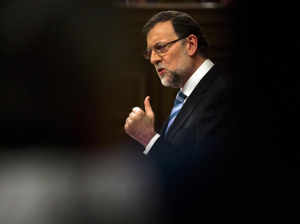 Rajoy en el Debate sobre el estado de la Nación