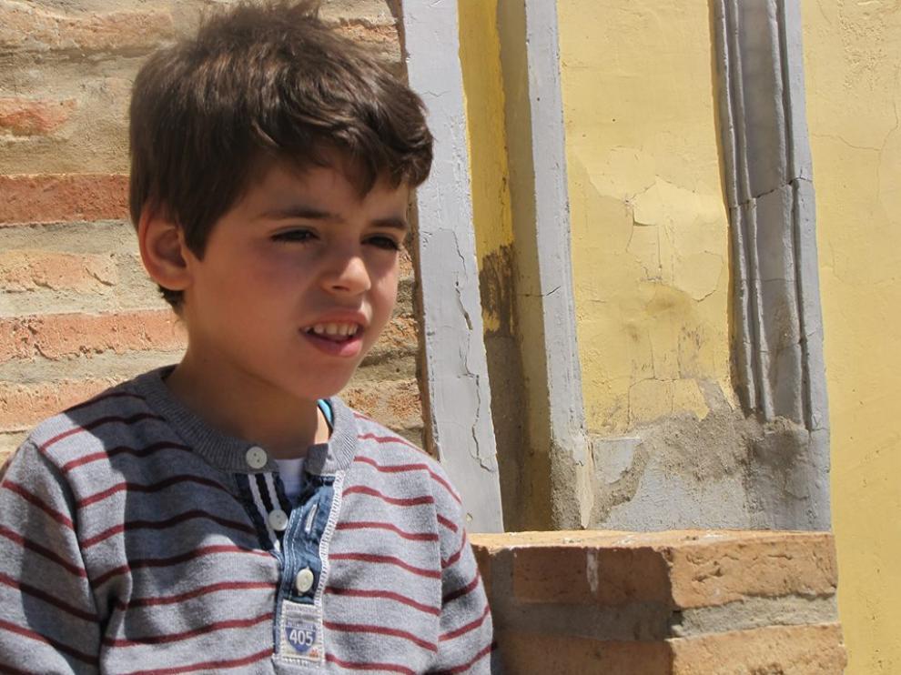 Samuel, que padece el raro síndrome de Dravet, lleva nueve meses con terapia