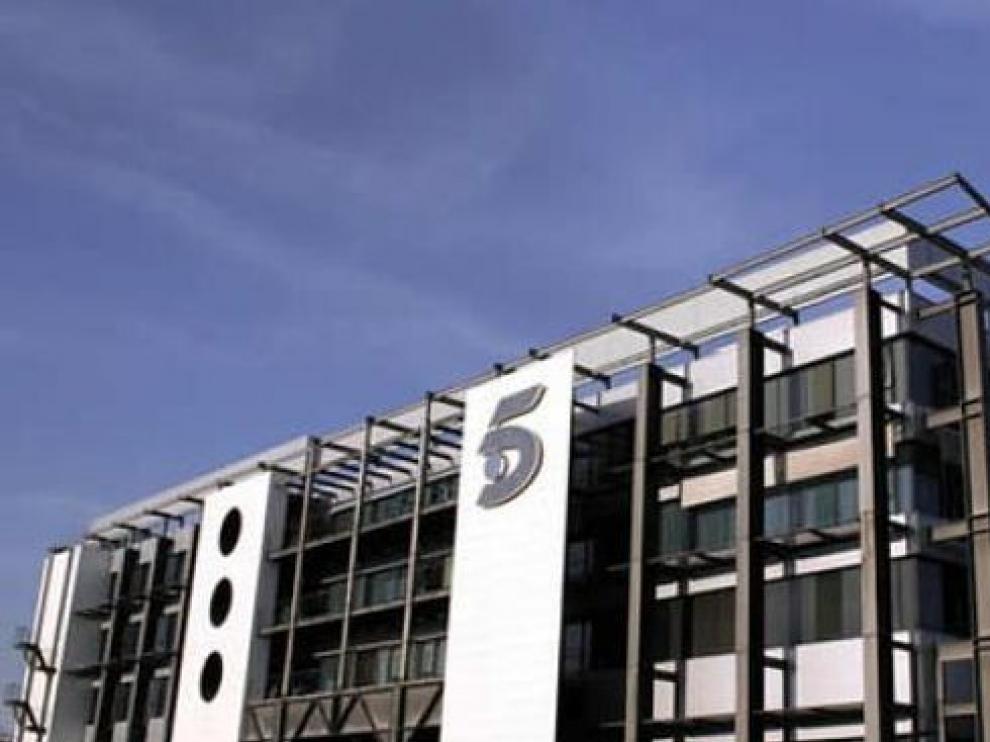 Sede de Telecinco, del grupo Mediaset.