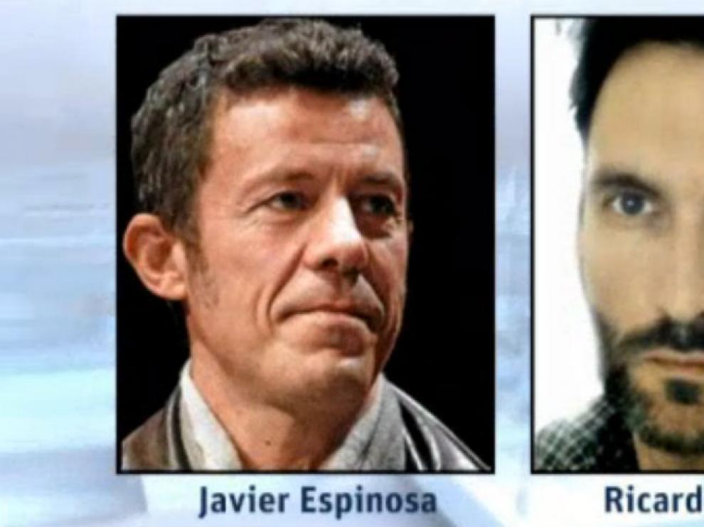 Javier Espinosa y Ricardo García Vilanova