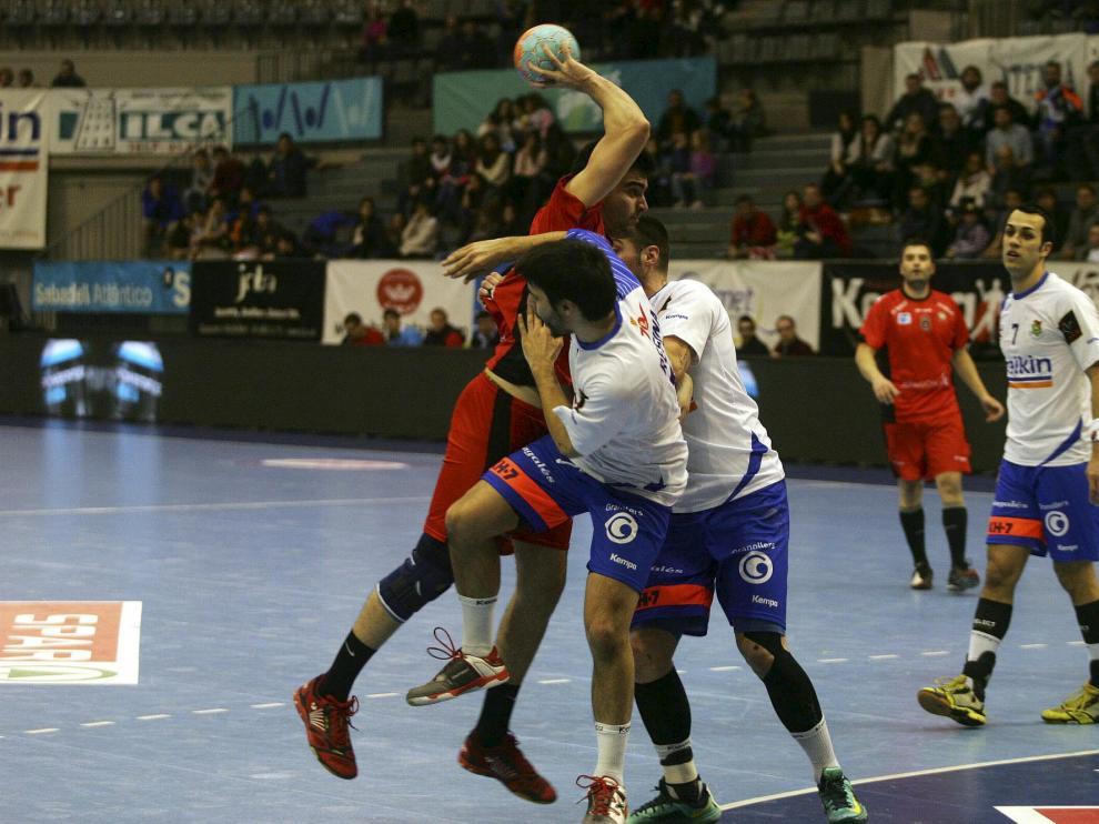 Granollers contra BM Huesca