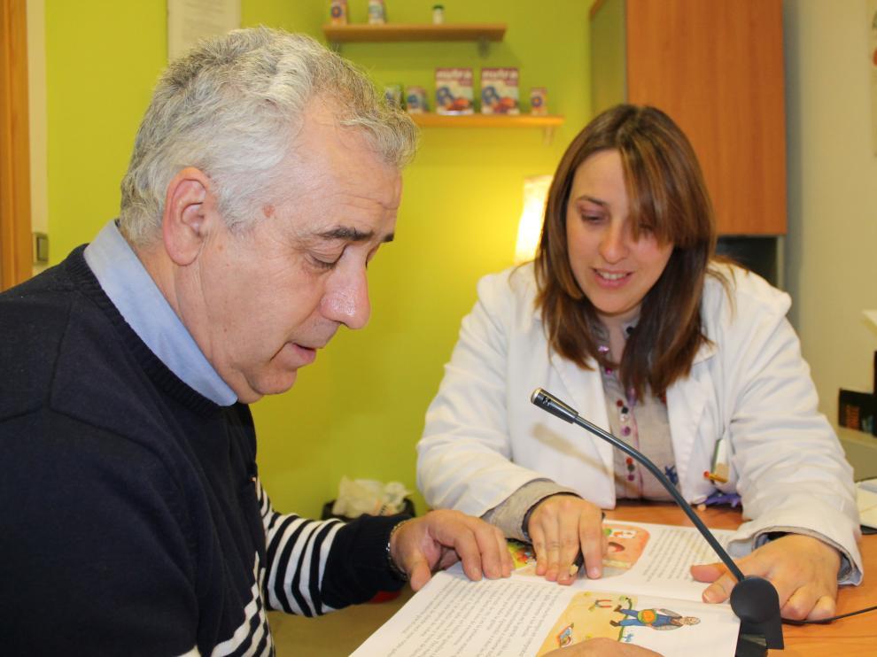 Rehabilitación con adultos en un centro de especialidades de Aragón