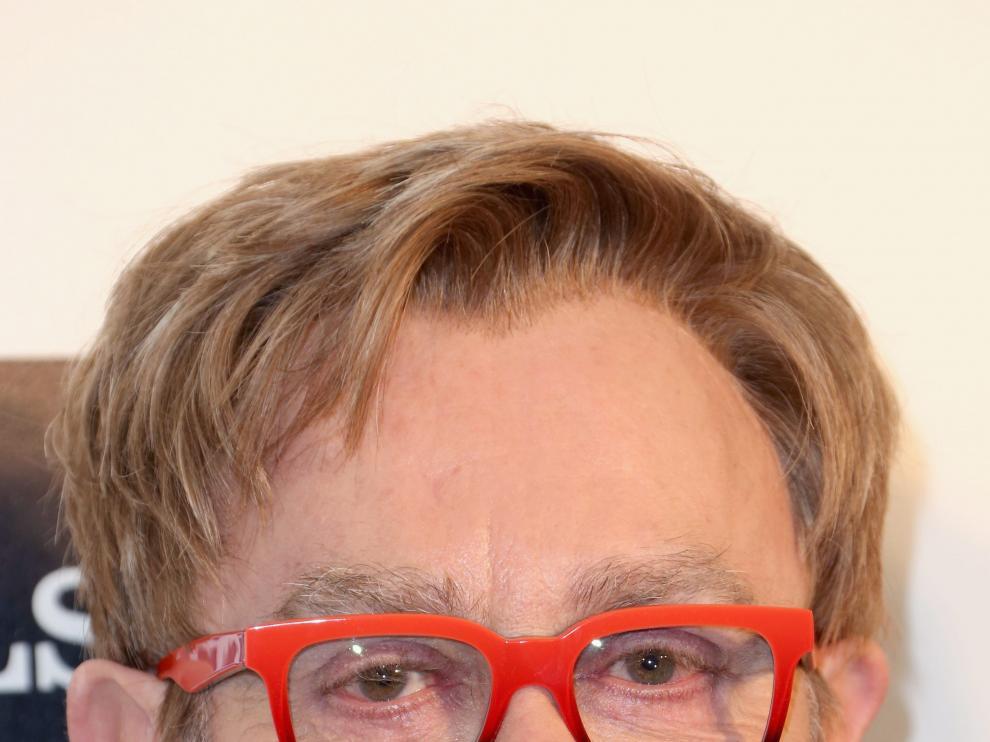Elton John en su fiesta tras los Oscar