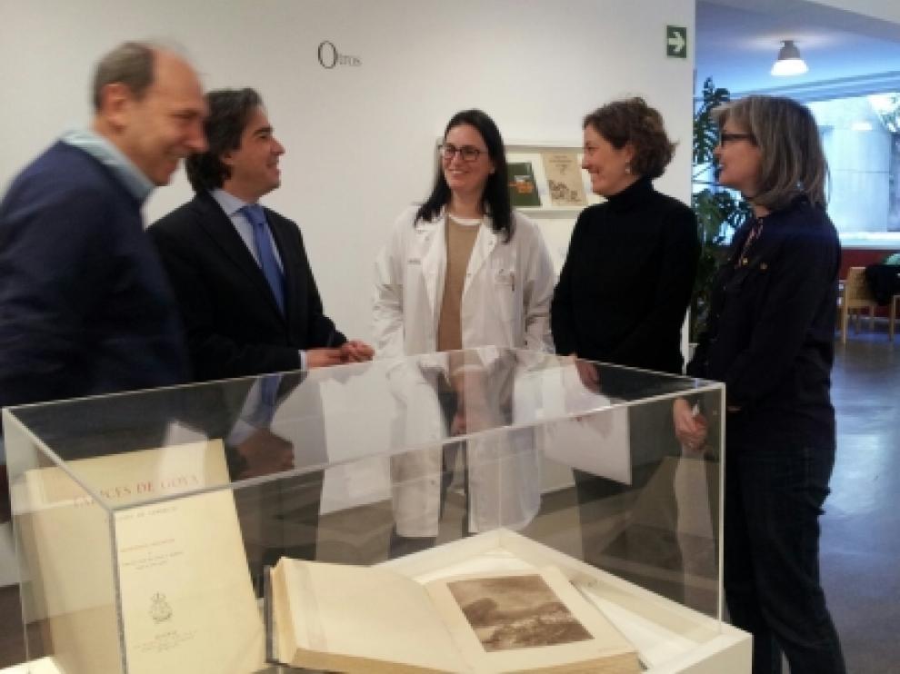 """La exposición """"Todo sobre Goya"""" estará en la Biblioteca de Aragón hasta el 31 de marzo"""