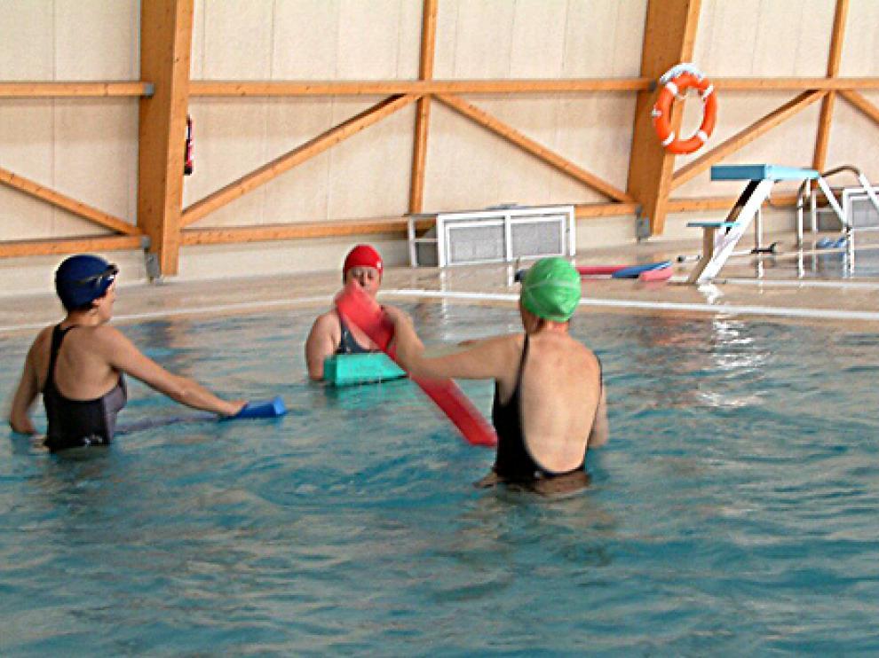 Cursos de gimnasia en el agua