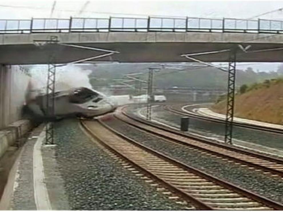 Foto de archivo. Accidente de Santiago
