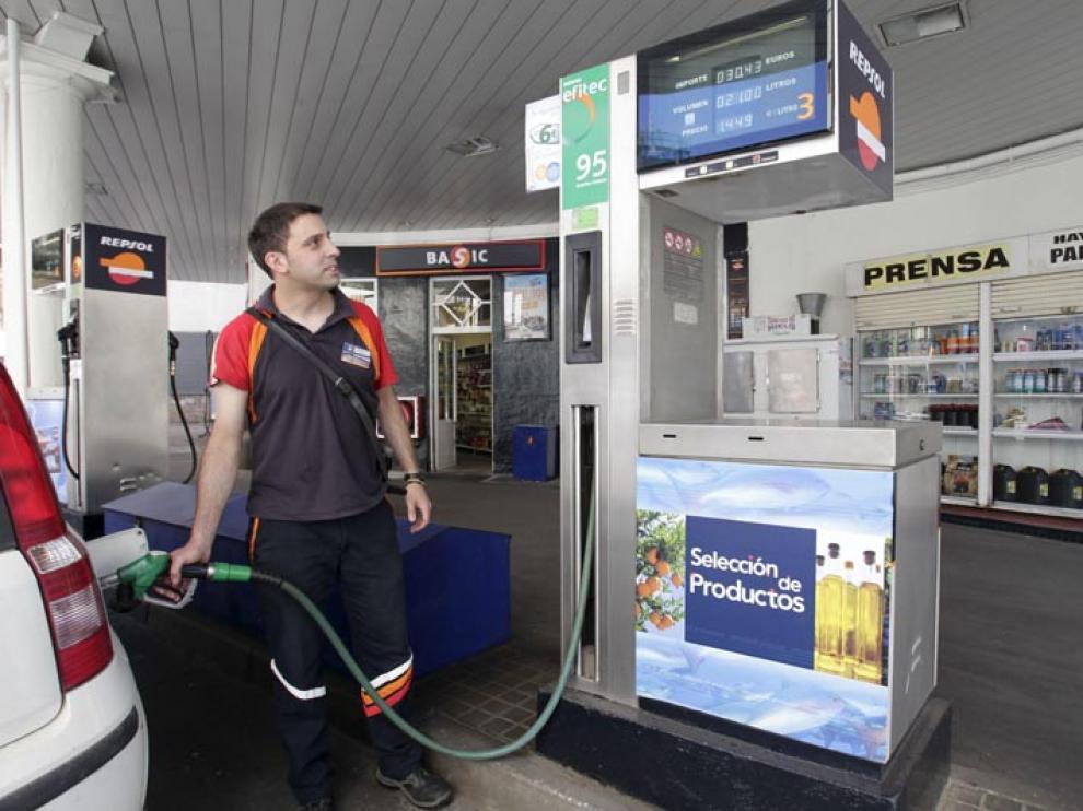 Una gasolinera de la provincia