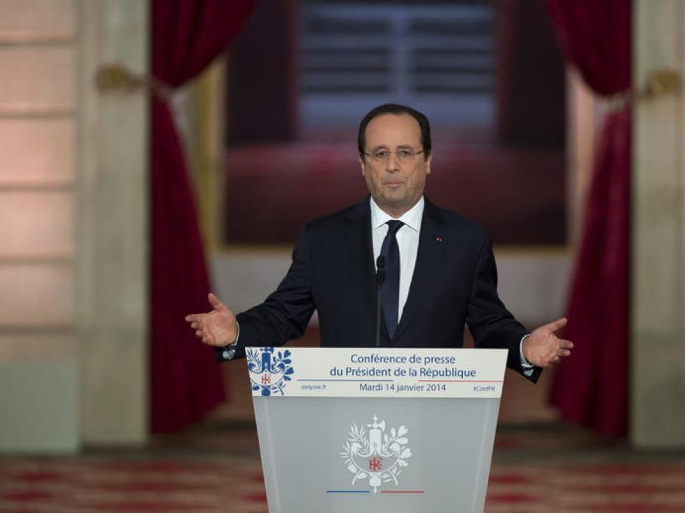 Foto de archivo de Hollande