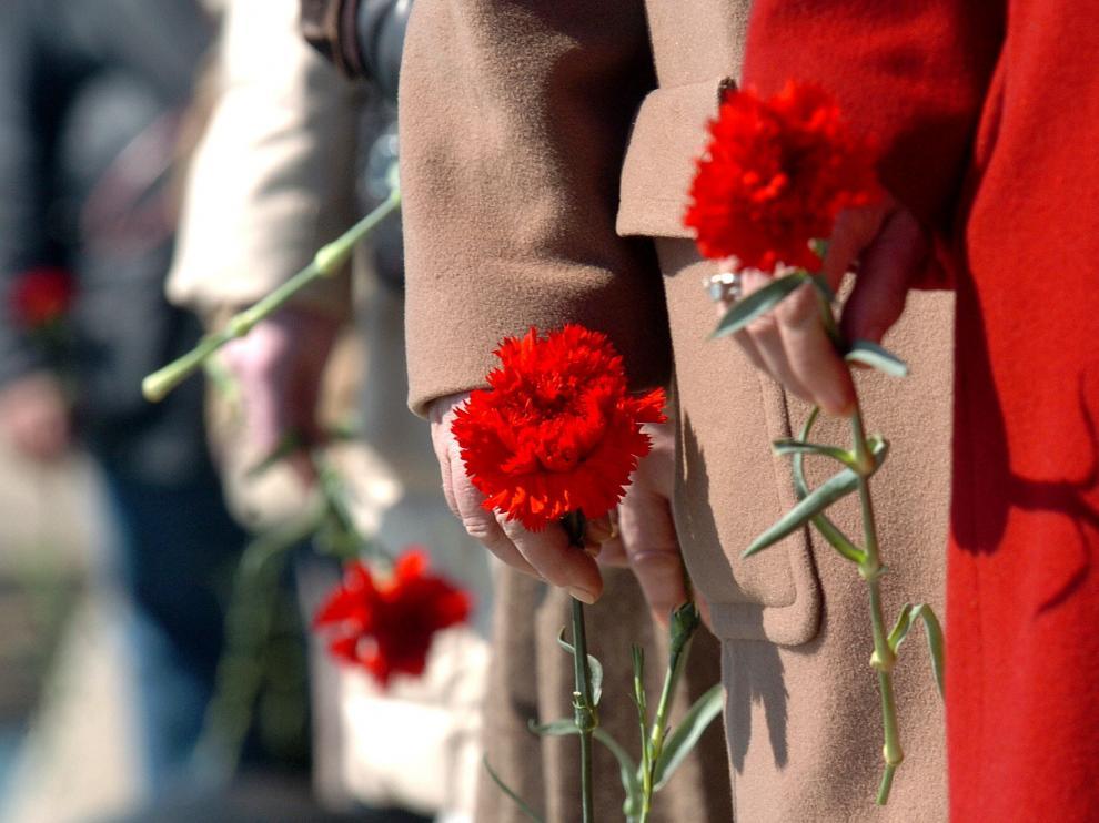 Homenaje a las víctimas del 11-M en años anteriores.