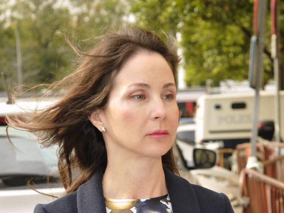 Alaya, a su llegada a los juzgados, donde ha impuesto una fianza de 29.568.129€ a Magdalena Álvarez