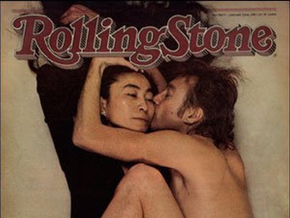 Histórica portada de Yoko Ono con John Lennon